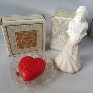 Avon Vintage Bridal Moments + Heat & Diamond